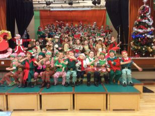 P2 and P3 Present Ralf The Reindeer
